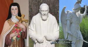Patron Saints of Holy Love Ministries